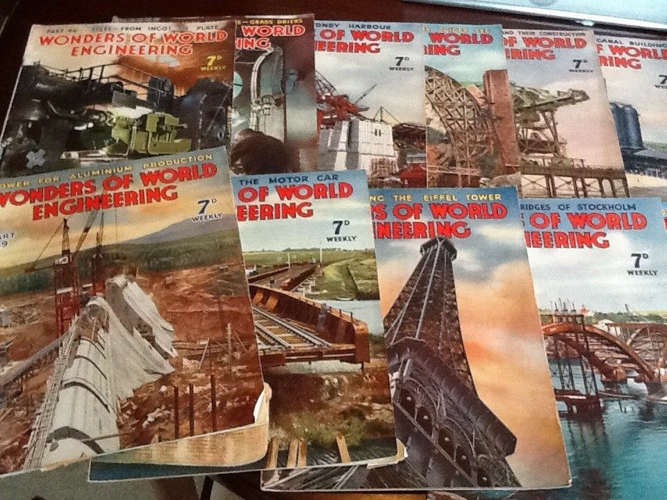 Wonders of the World engineering magazines