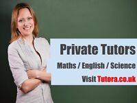 Ashford Tutors from £15/hr - Maths,English,Science,Biology,Chemistry,Physics,French,Spanish