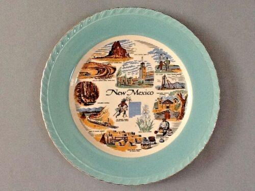 "New Mexico Decorative Souvenir Plate approximately 8 3/4"" Diameter"