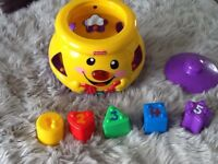Fisher Price Cookie Jar Toy