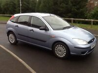 54 PLATE FORD FOCUS FLIGHT 1.6cc LOW MILEAGE 66k FULL MOT