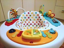 Mothercare Walk Around (Spots) - Baby walker / activity centre / entertainer