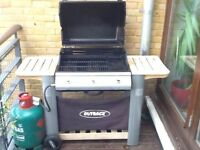 """BBQ, Dyson, Dining table + 4 chairs, 38"""" TV+DVD & stand, chest of drawers, 2 bedside tables, 2 lamps"""