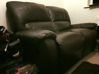 Two Seater Leather Sofa for FREE