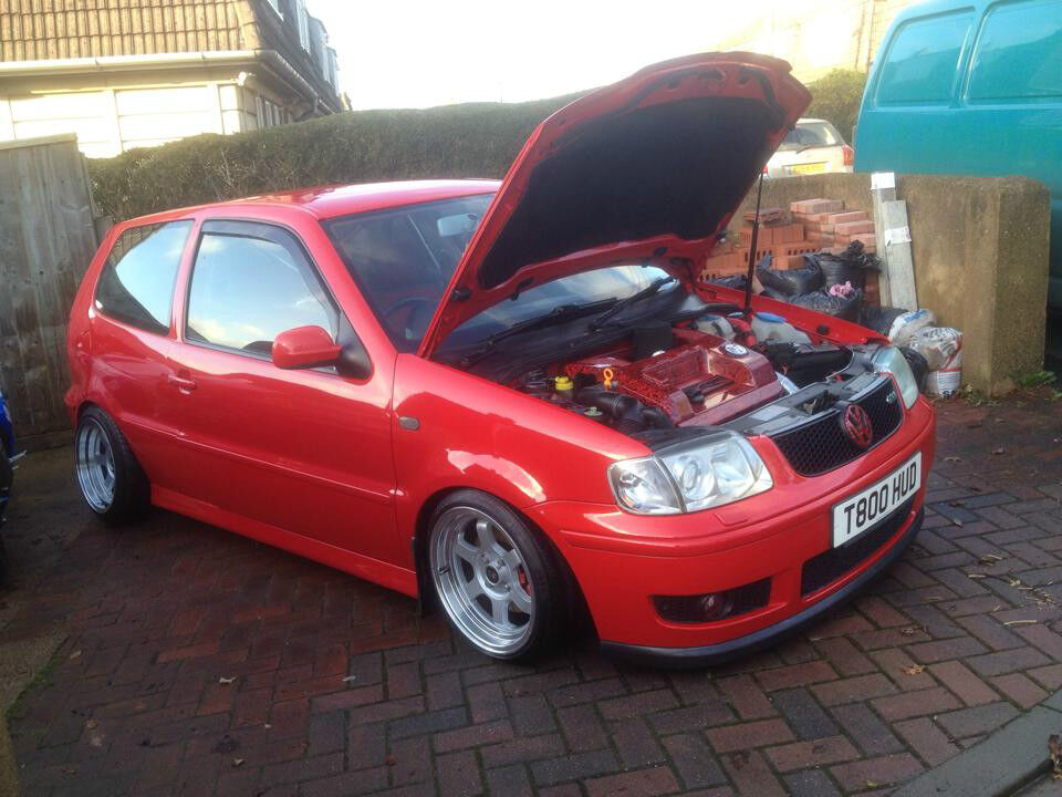 vw polo gti 6n2 1 6 16v modified show car look in exeter devon gumtree. Black Bedroom Furniture Sets. Home Design Ideas
