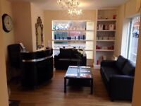 Therapy room to rent in award winning beauty salon