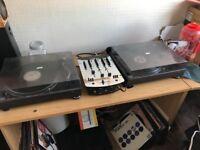 Numark DM3000X - 3 Channel DJ Mixer