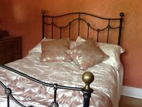 Double bed frame from non-smoking /pet free home