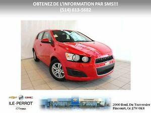 2016 Chevrolet SONIC 5 LT CAMERA, TURBO, MAGS, AUTO, West Island Greater Montréal image 2