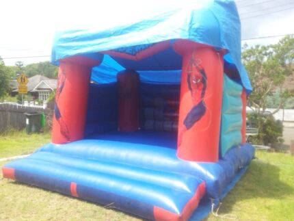 Spiderman Jumping Castle Hire Ashfield Ashfield Area Preview