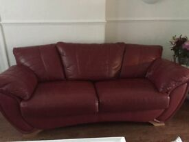 three seeter sette and puffee excellent cond new one forces sale need gone by fri buyer to collect
