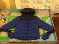 2 boys winter jackets