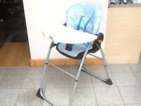 Graco highchair with detachable table/tray-£10