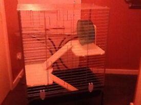 Large Rabbit/Guinea Pig /Chinchilla/Ferret moveable