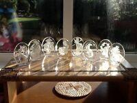 Set of 12 Danbury mint crystals