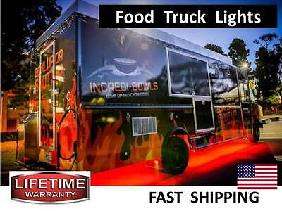 Pull Behind Hot DOG Cart & MILKSHAKE Stand LED Light KIT - 300lights TOTAL part