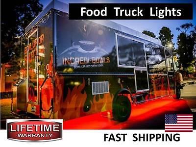Pull Behind Hot Dog Cart Milkshake Stand Led Light Kit - 300lights Total Part