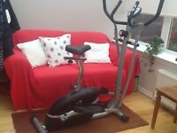 Exercise Bike / Cross Trainer in One