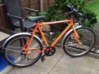 Orange Apollo bike