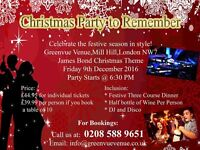 Christmas Party to Remember - James Bond Theme