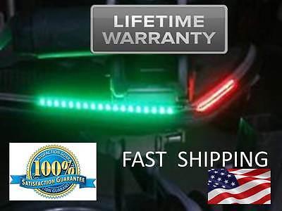 Marine - Watercraft - Boat - RED & GREEN Bow Navigation LED Running Light