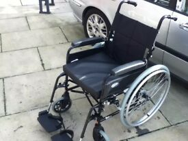 wheelchair self propelled new made by invacare