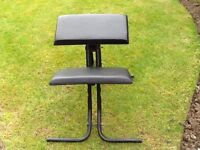 Back support chair/stool