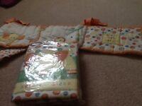 Cot quilt & bumper set