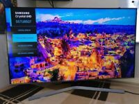 "2020 55"" Samsung 4k UHD crystal colour HDR smart LED TV UE55TU8507"