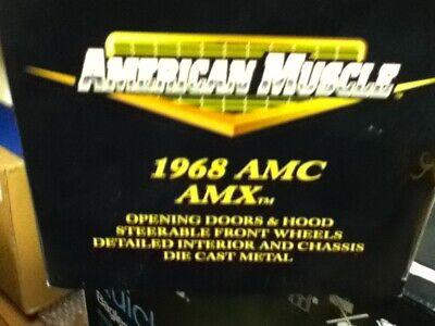 American Muscle 1/18 scale Diecast 1968 AMC AMX