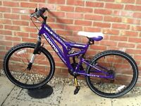 Muddyfox Sportz Bike for sale. Excellent condition - hardly used. £35