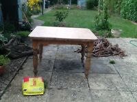Kitchen table - beautiful antique pine