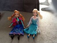 Elsa&manna dolls