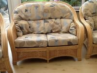 Conservatory furniture. Very good condition. Collection only