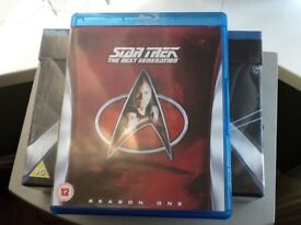 Blu Ray Star Trek next generation season one