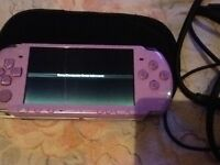Slim & lite psp with games and accessories