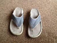 Ladies blue next sandles size 5 vgc worn once vgc