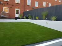 landscape gardening and artificial grass
