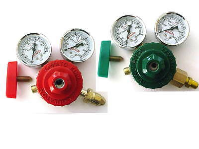 Propaneacetylene Oxygen Premium Regulator Set- For Welding Brazing Torch Yam
