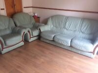 Leather sofa 3 seater+1 seater+1seater for sale