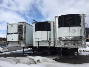 53 FT REEFERS   2000/2004   + Chassis 3 Essieux 40/53 pieds