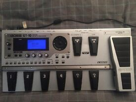 Boss Gt-10 Effects Processor