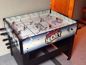 "44""L x 34""W x 35.5""H Hockey Game"