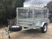 6x4 Heavy Duty Galvanised Single Axle CAGED Trailer Adelaide Region Preview