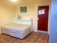 Furnished Studio on 4th (Top) Floor. Includes Council Tax and Water