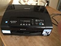Brother DCP375CW wireless printer.