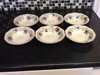 Churchill dessert bowls