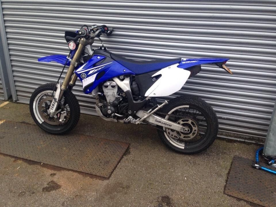 yamaha wr450f 2008 supermoto in putney london gumtree. Black Bedroom Furniture Sets. Home Design Ideas