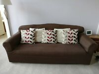 FREE - 2 seat sofa bed and 3 seat sofa - Laura Ashley