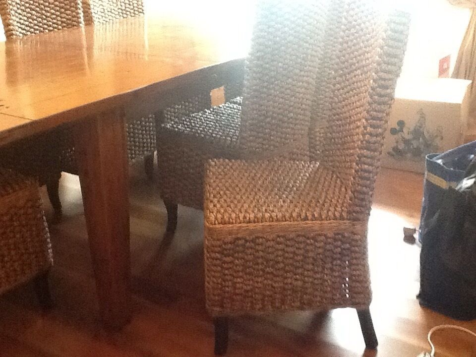 irish coast dining table & 8 chairs | in ayr, south ayrshire | gumtree